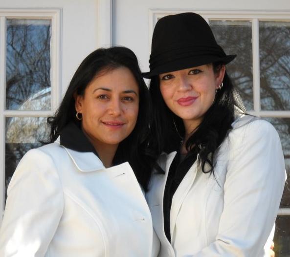 Latino and white lesbian
