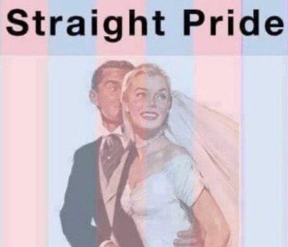 Straight heterosexual etymology